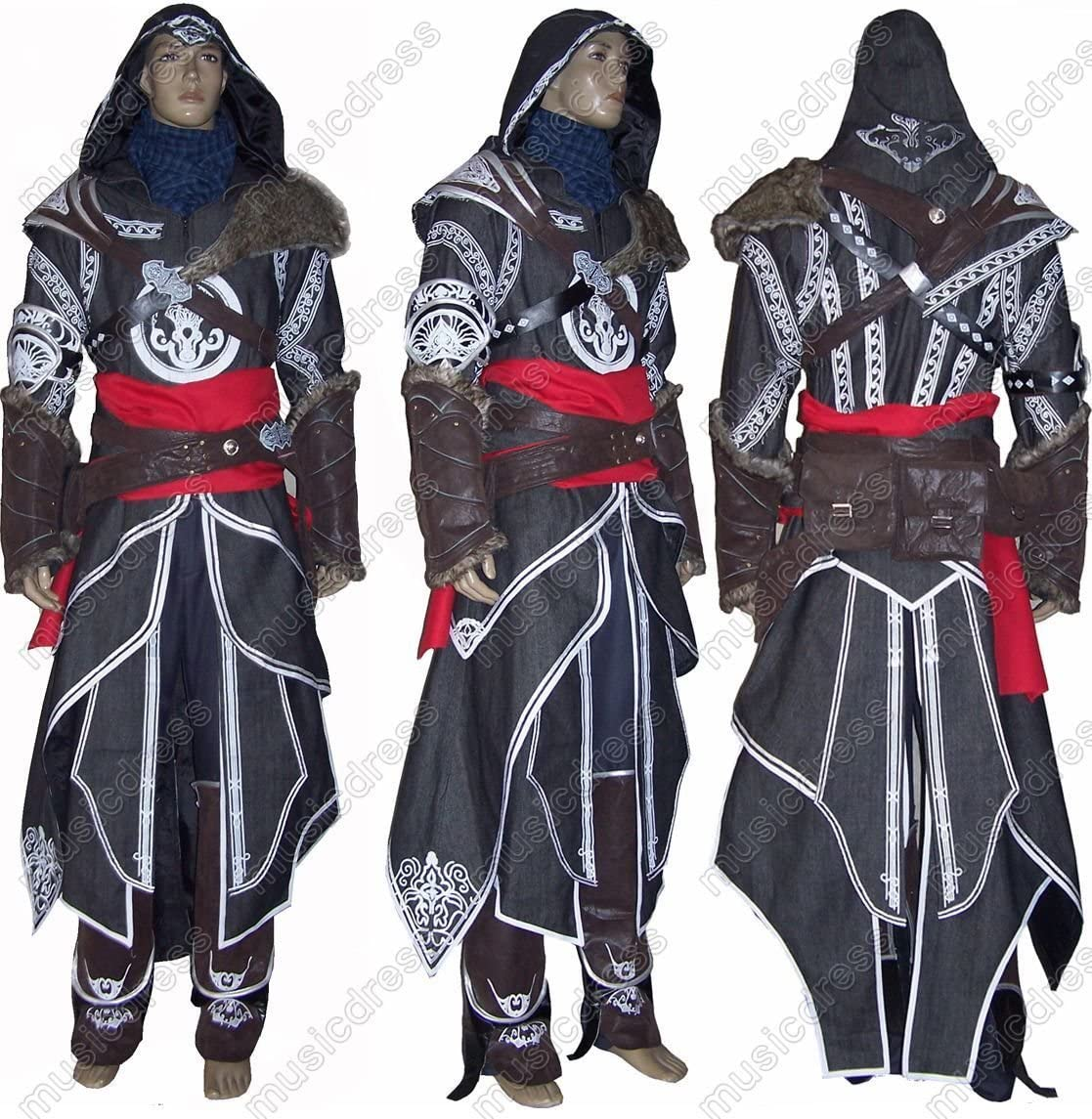 Assassins Creed REVELATION Ezio disfraz de alta calidad, tamaño L ...