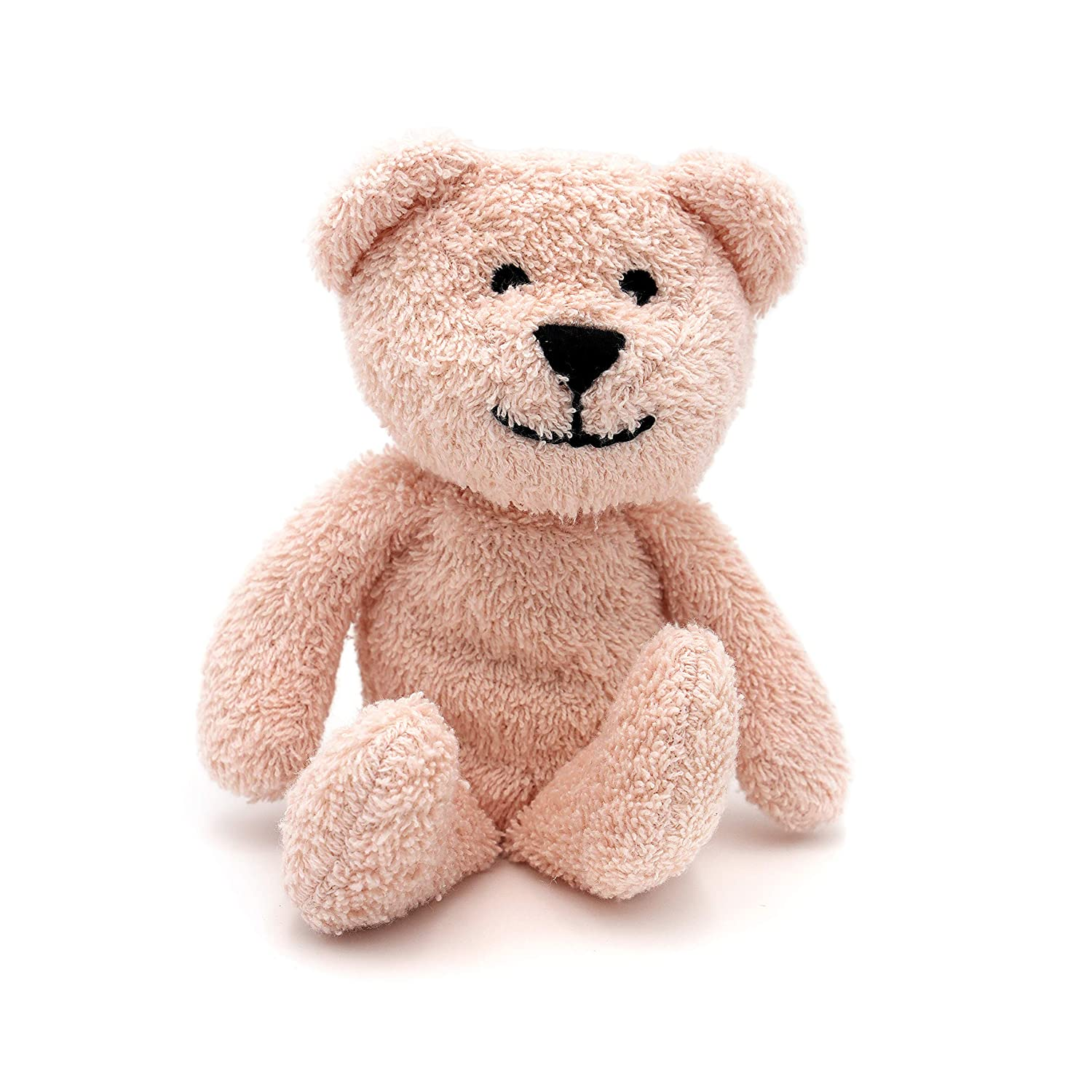 Thermal-Aid Zoo — Mini Bella The Pink Bear — Kids Hot and Cold Pain Relief Boo Boo Tool — Heating Pad Microwavable Stuffed Animal and Cooling Pad — Easy Wash, Natural Sleep Aid — Pregnancy Must-Haves