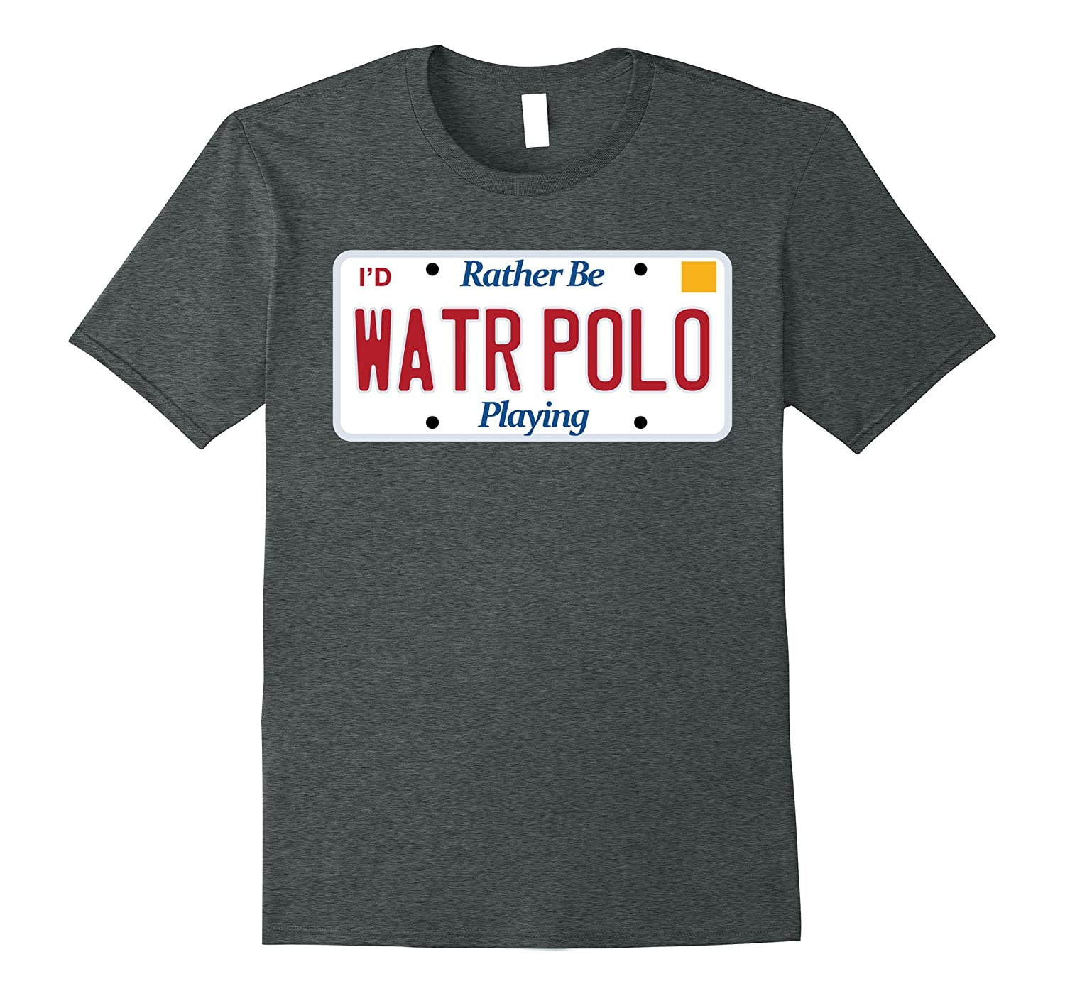 Water Polo t-shirt Rather be playing tshirt water sports tee