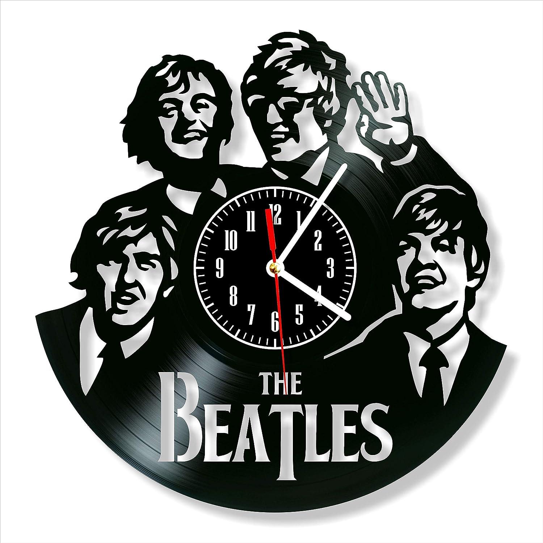 Beatles Clock Vinyl Clock, Beatles Wall Clock 12, Art Original Decor, The Best Home Decorations