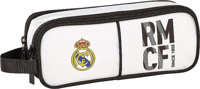 Real Madrid 811854513 2018 Estuches, 21 cm, Blanco: Amazon.es: Ropa y accesorios