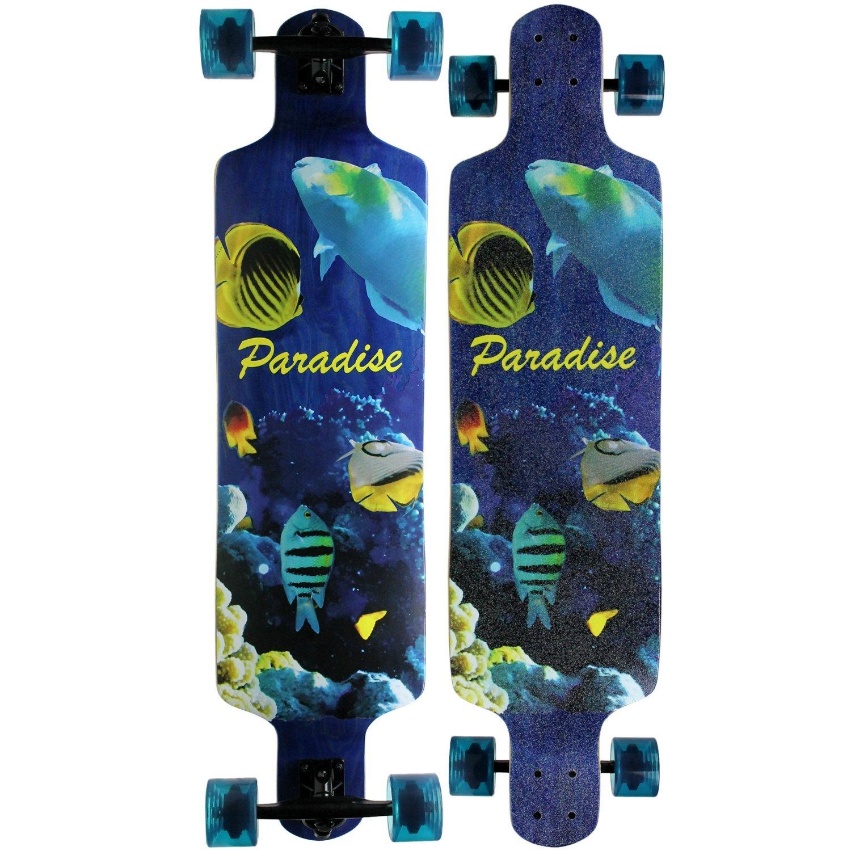 ★お求めやすく価格改定★ PARADISE Aquatic by Drop Aquatic Down Complete Longboard Longboard by Paradise B00UXZEXDM, 志免町:e3f5e988 --- a0267596.xsph.ru