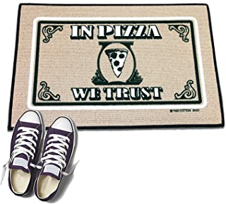 product image for HIGH COTTON Welcome Doormat - in Pizza We Trust