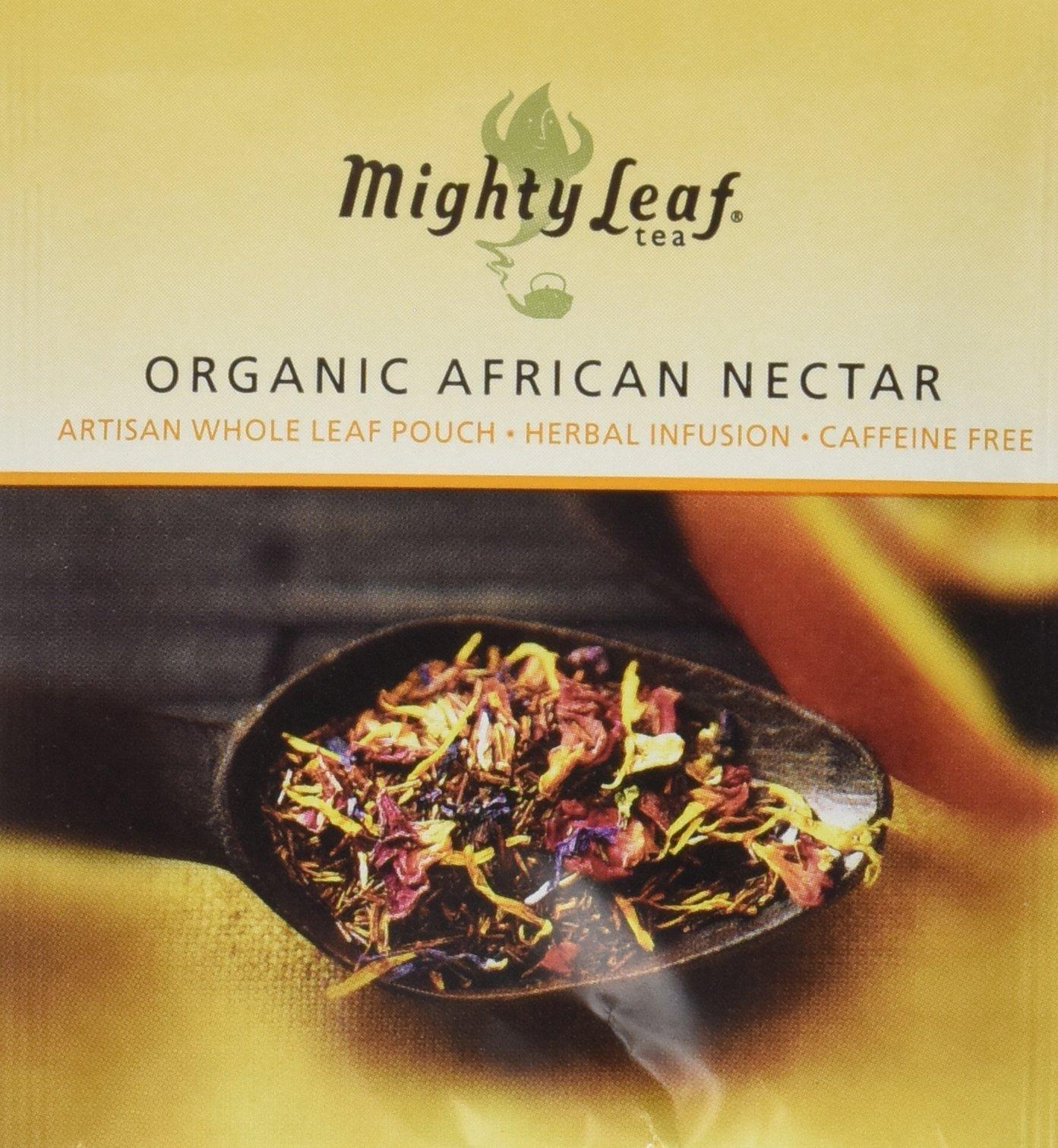 Mighty Leaf Organic African Nectar Tea, 100 Tea Pouches by Mighty Leaf Tea