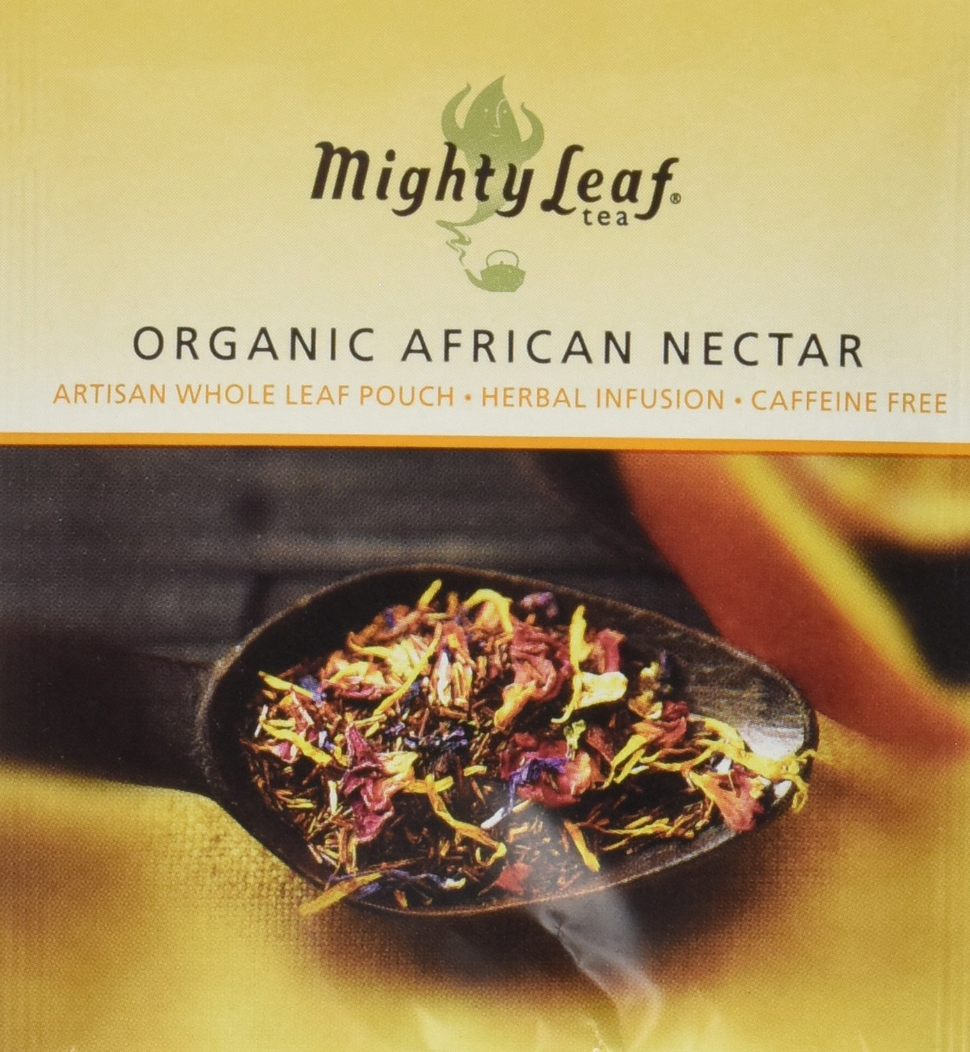 Mighty Leaf Organic African Nectar Tea, 100 Tea Pouches by Mighty Leaf Tea (Image #1)