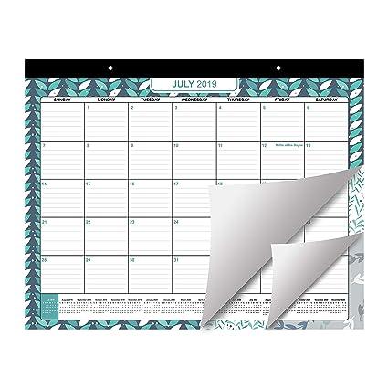 Calendario Mr Wonderful Julio 2019.Calendario De Mesa 2019 2020 Por Belle Vous Planificador