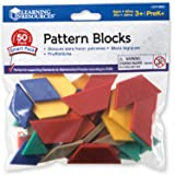 Learning Resources LER3669 Pattern Blocks Smart Pack