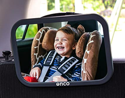 acb975fee40 Image Unavailable. Image not available for. Colour  Onco Baby Car Mirror ...