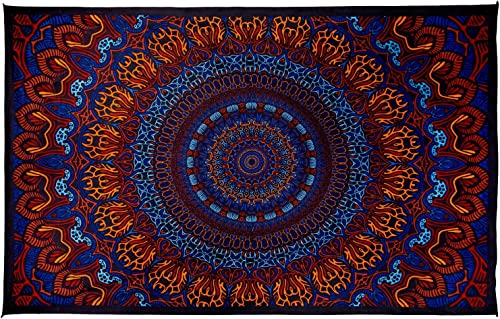 Sunshine Joy 3D Origin Of Life Tapestry Tablecloth Wall Art Beach Sheet Huge 60×90 Inches – Amazing 3D Effects