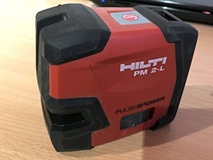 Hilti pm 2 l lineal laser laser set: amazon.de: gewerbe industrie