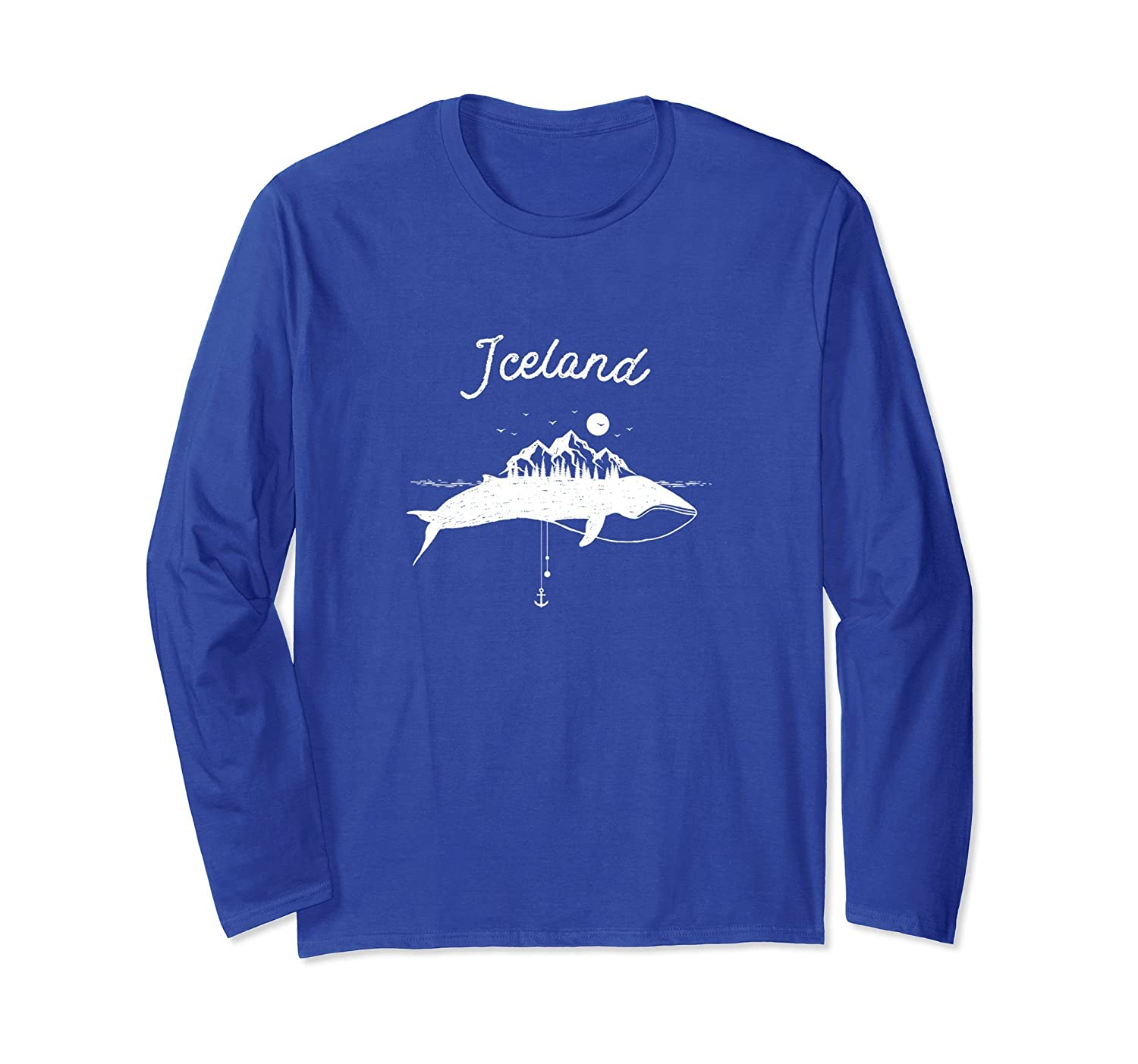 Vintage Iceland Shirt with Humpback Whale-ah my shirt one gift