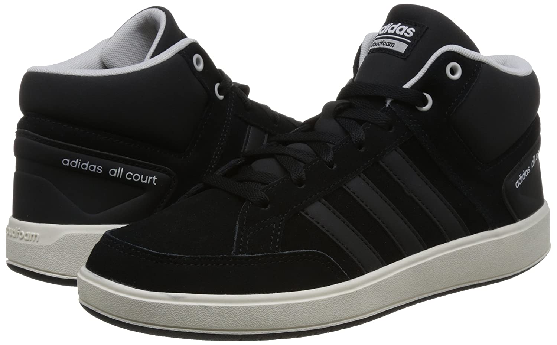 Adidas CF All Court Mid, Zapatillas de Deporte para Hombre, Gris (Gricua/Gricua/Mesa), 43 1/3 EU