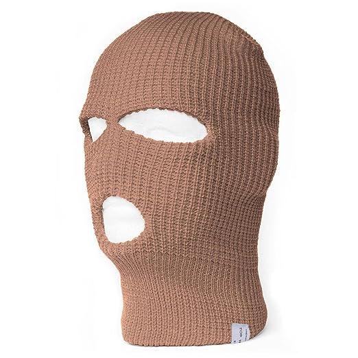 TopHeadwear 3-Hole Ski Face Mask Balaclava 238432c1006e