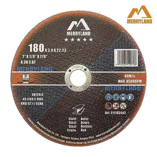 Bosch 2608600321 Disque /à Tron/çonner /à moyeu plat expert for metal A 30 S BF 180 mm 3,0 mm