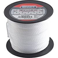 Connex COX781550 -Cordón trenzado de propileno, 100 m x diámetro 2 mm