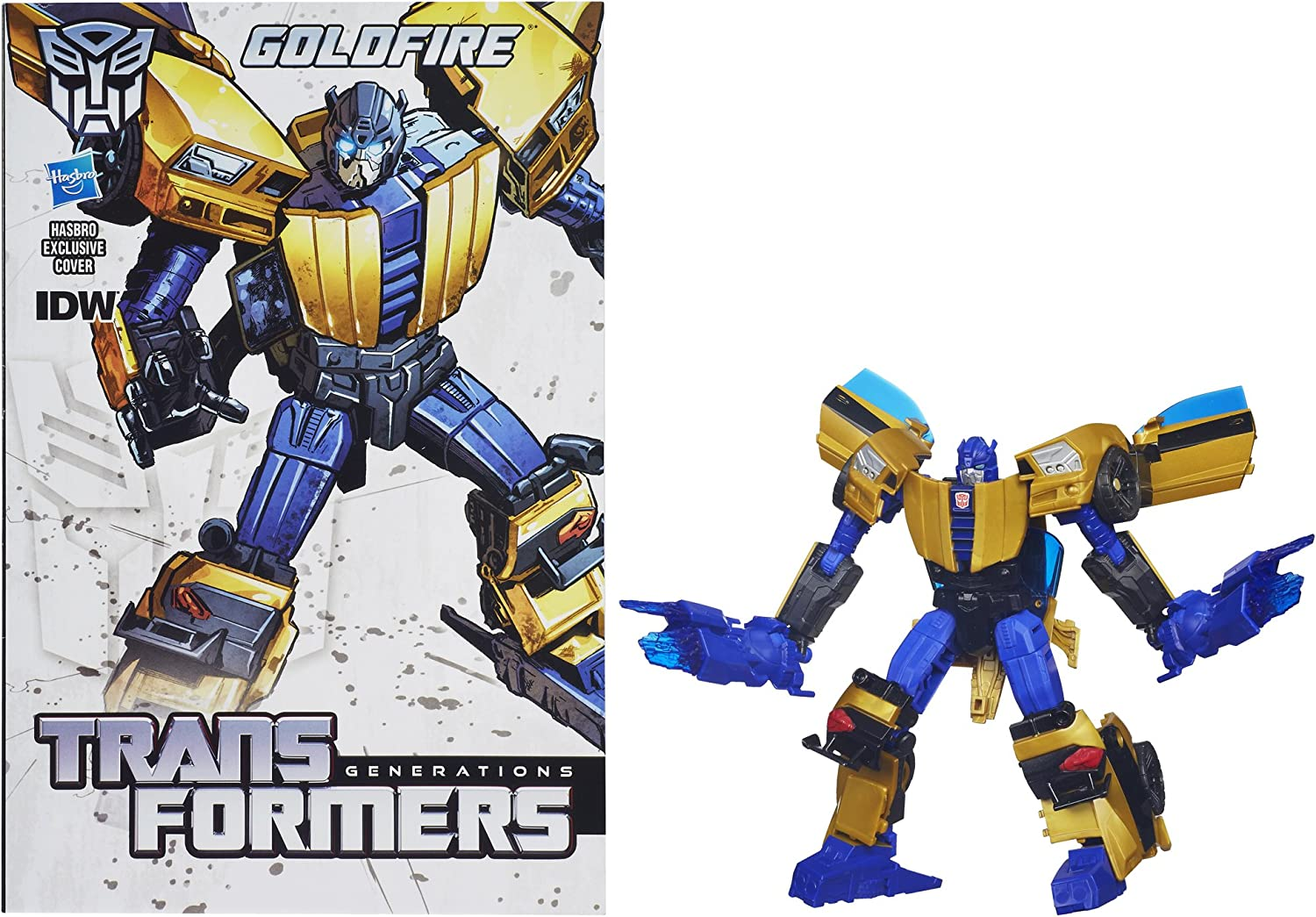 In Hand Transformers Generations IDW Deluxe Class Autobot Nightbeat Toys Hero