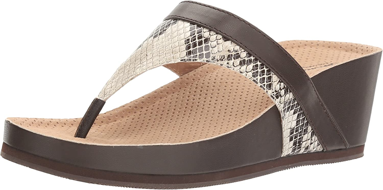 SoftWalk Women's Heights Wedge Sandal