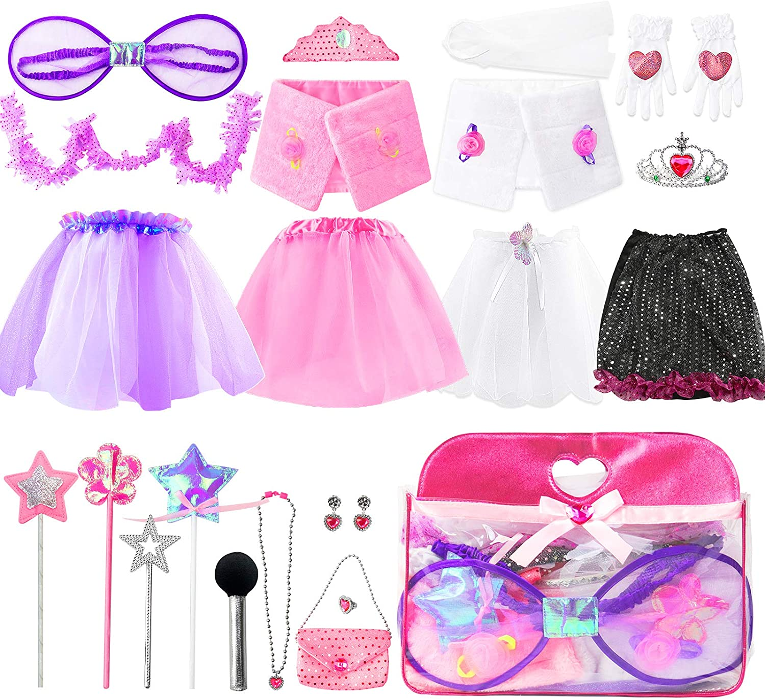 US KidGirls Fairy Princess Costume Toddler Cosplay Party Fancy Dress Up Clothes