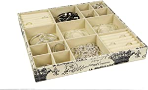 Home Basics Jewlery Organizer, Multi
