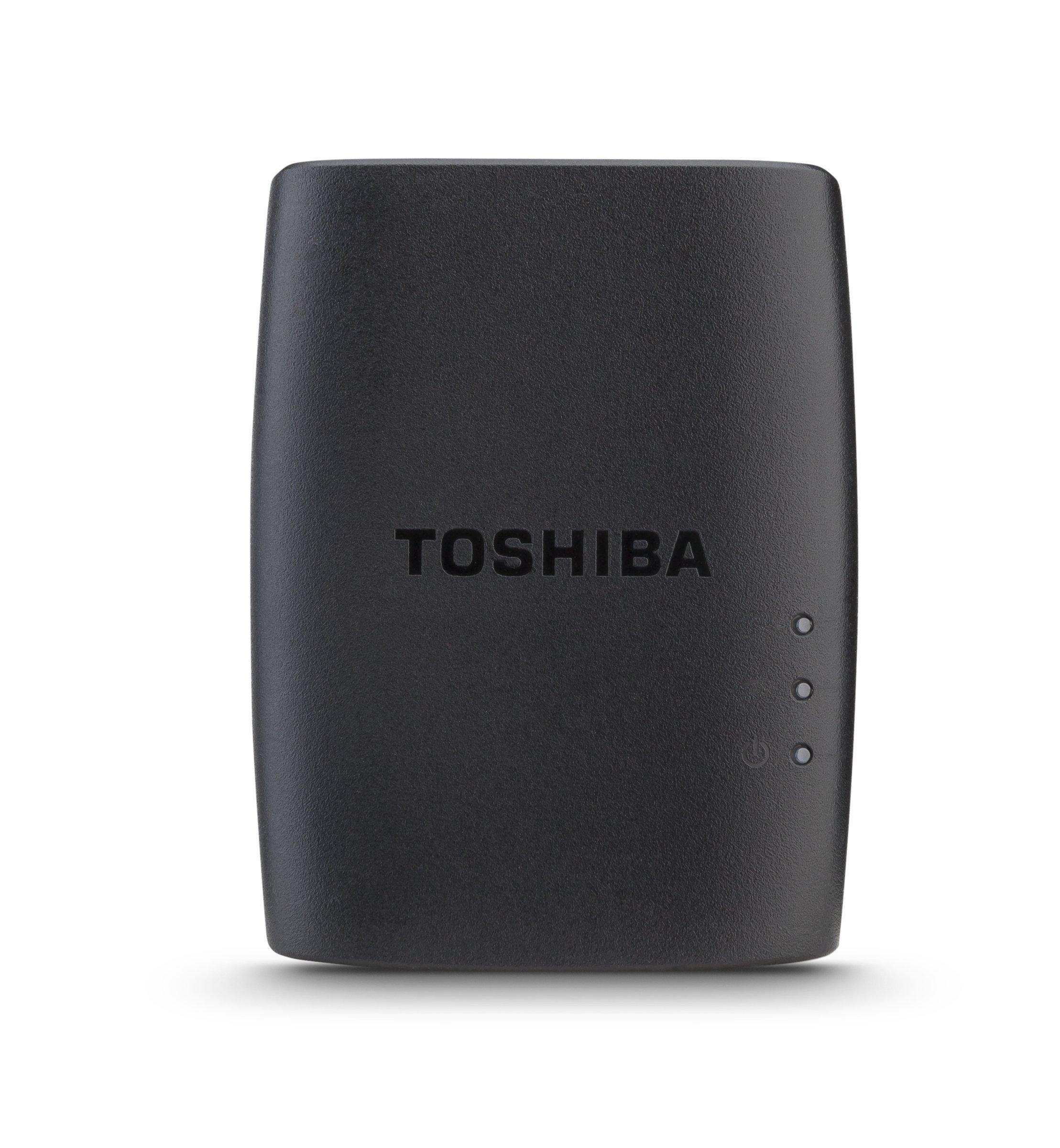 Toshiba Canvio Cast Wireless Adapter (HDWW100XKWU1)