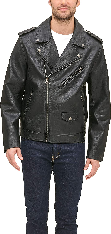 Levi's Men's Faux Leather Classic Motorcycle Jacket