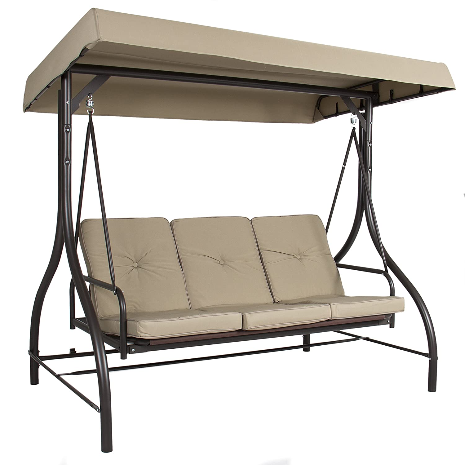 Amazon Com Best Choice Products Converting Outdoor Swing Canopy