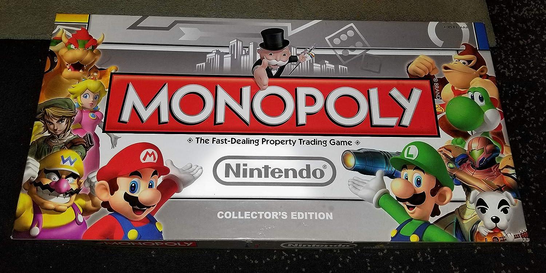 USAopoly Nintendo Monopoly Collectors Edition USA-MN005135-10 by USAopoly: Amazon.es: Juguetes y juegos