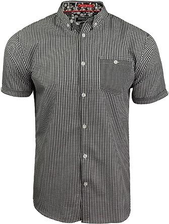 Brave Soul Clement With Buton Down Collar - Camisa de cuadros para hombre