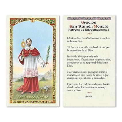 Amazon.com: Oracion a Sant Ramon Nonato Patron de las ...