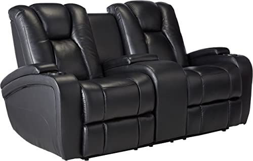 Delange Reclining Power Loveseat