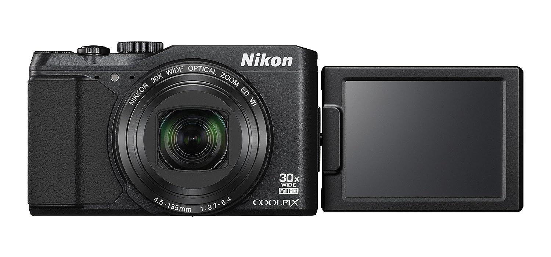 Nikon デジタルカメラ COOLPIX S9900 光学30倍 1605万画素 ブラック S9900BK  ブラック B00TEY2W0E