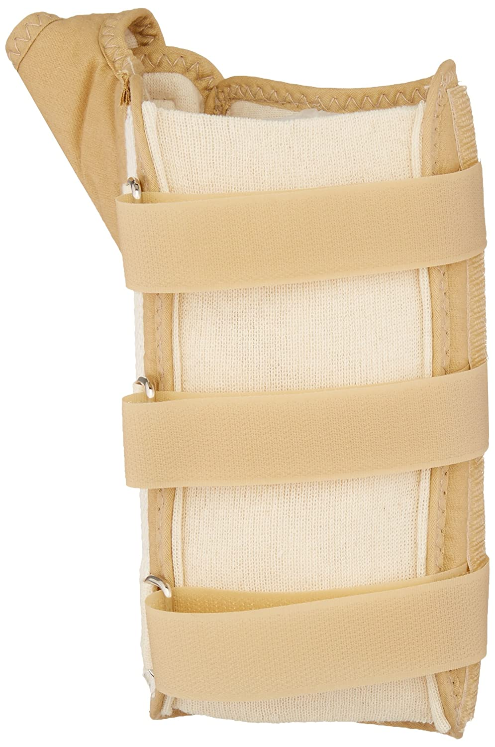 Inflammation /& Tendinitis Various Sizes 75889 Rolyan D-Ring Wrist and Thumb Spica Splint for Left or Right Wrist Carpal Tunnel Beige Wrist Supports for Tendonitis Easy On Easy Off Supprort Brace