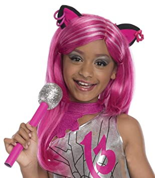 Rubies Costume Co Peluca para disfraz infantil de Monster High Catty Noir