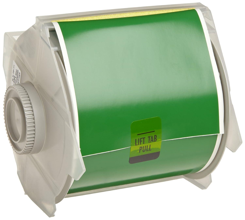 Green Indoor//Outdoor Tape Brady 113124 GlobalMark 100 Length X 2.25 Width B-595 Vinyl