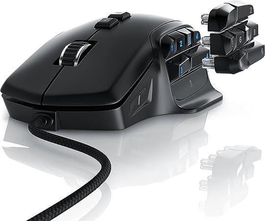 Titanwolf Gaming Maus Mit 10000 Dpi Abtastrate 6 Computer Zubehör