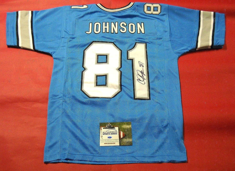 bc198137d hot sale 2017 Calvin Johnson Signed Jersey - Aash - Autographed NFL Jerseys