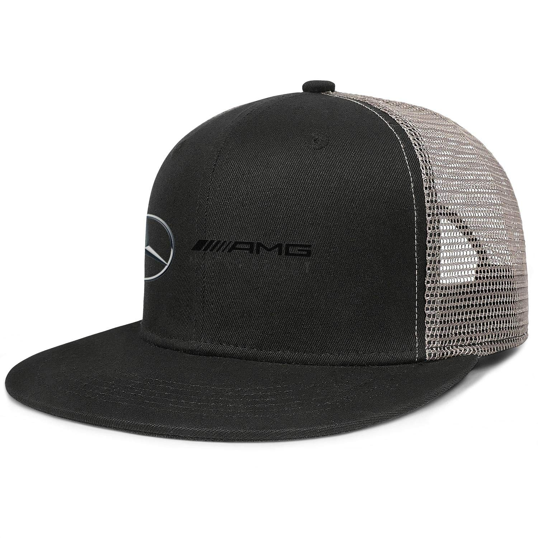 COOLGOOD Mercedes-Benz Sports Womens Mens Fitted Snapback Cap Mesh Cap Dad Hats Visor Hats