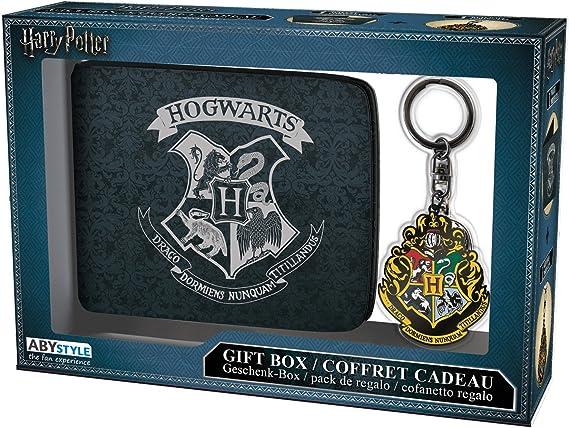 ABYstyle-Harry Potter cartera con llavero Hogwarts, ABYPCK109 ...