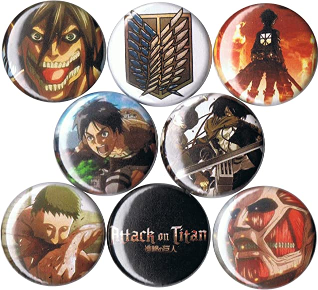 Attack on Titan Survey Corps Metal Pin High Quality Shingeki no Kyojin