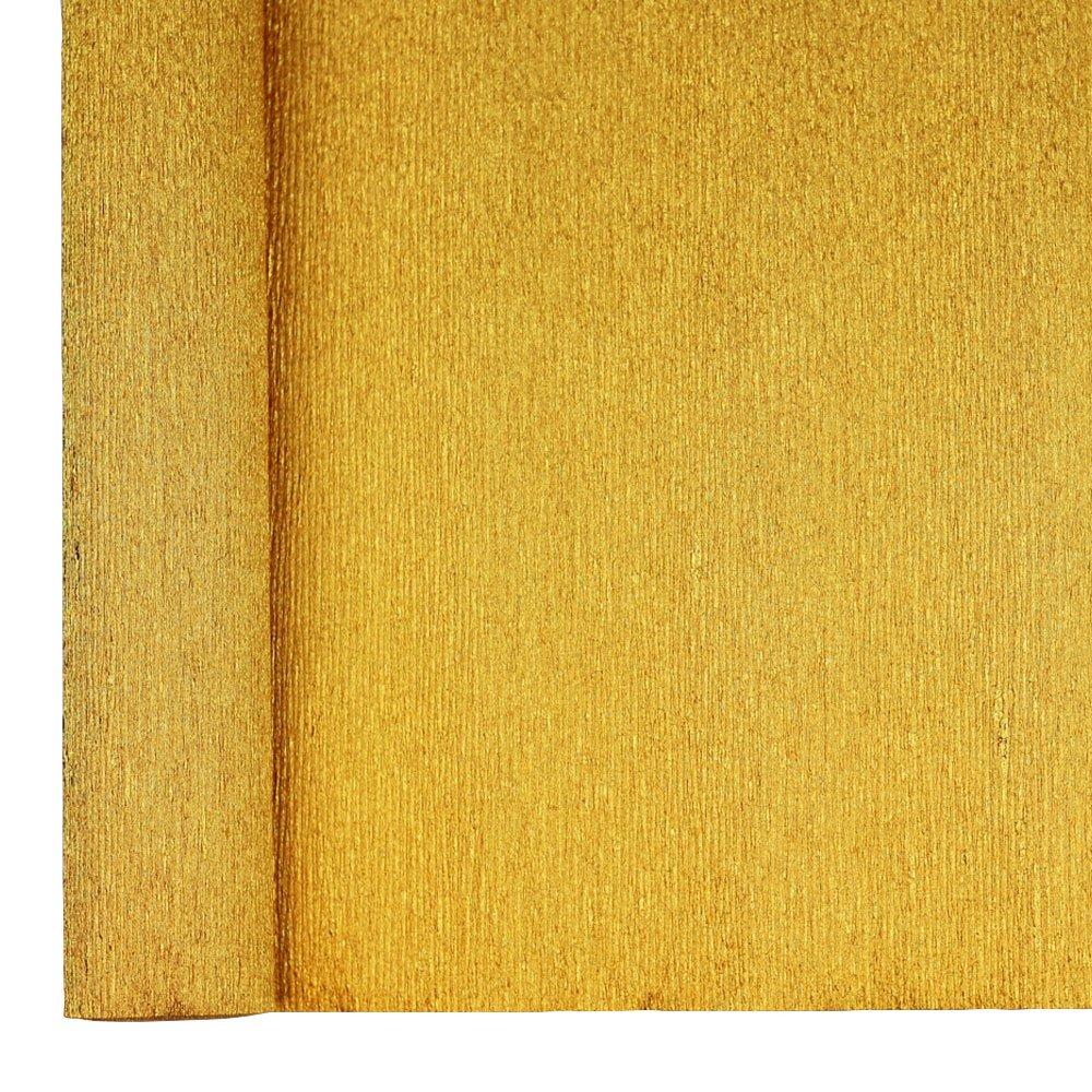 8ft Length//20in Width Color: Indigo Blue Just Artifacts Premium Metallic Crepe Paper Roll