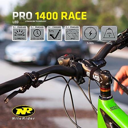 NiteRider Pro 1400 Race Rechargeable Headlight