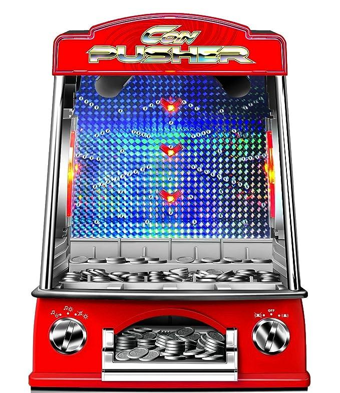 Gadgy ® Coin Pusher | Cascada de Monedas | Empujador Juego: Amazon.es: Juguetes y juegos