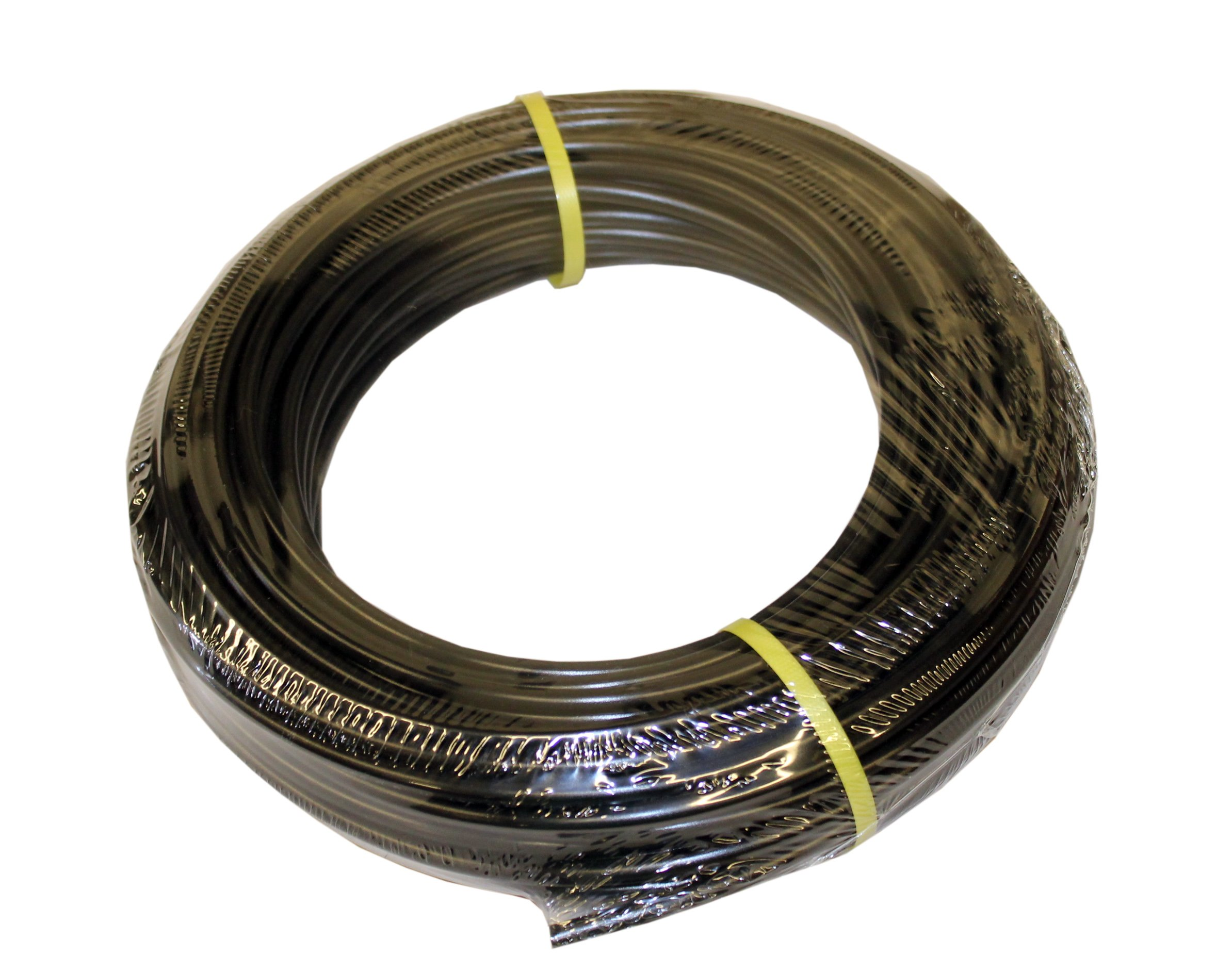 ATP IMBIBE NSF 61 Polyethylene Metric Plastic Tubing, Black, 8 mm ID x 10 mm OD, 100 feet Length