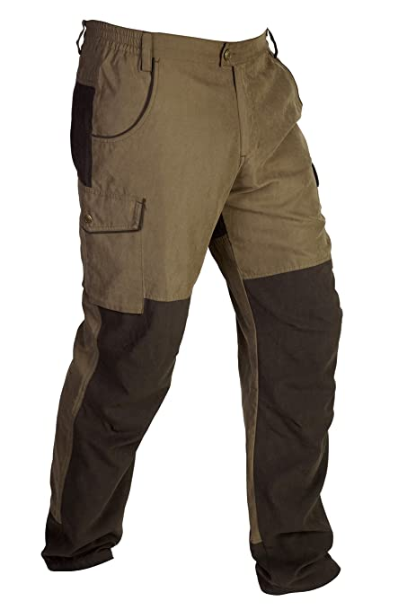 Gamo Outdoor Olympus Pantalones, Hombre, marrón, 46