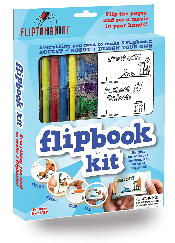 Rocket /& Robot KIT601 Fliptomania Flipbook Animation Kit