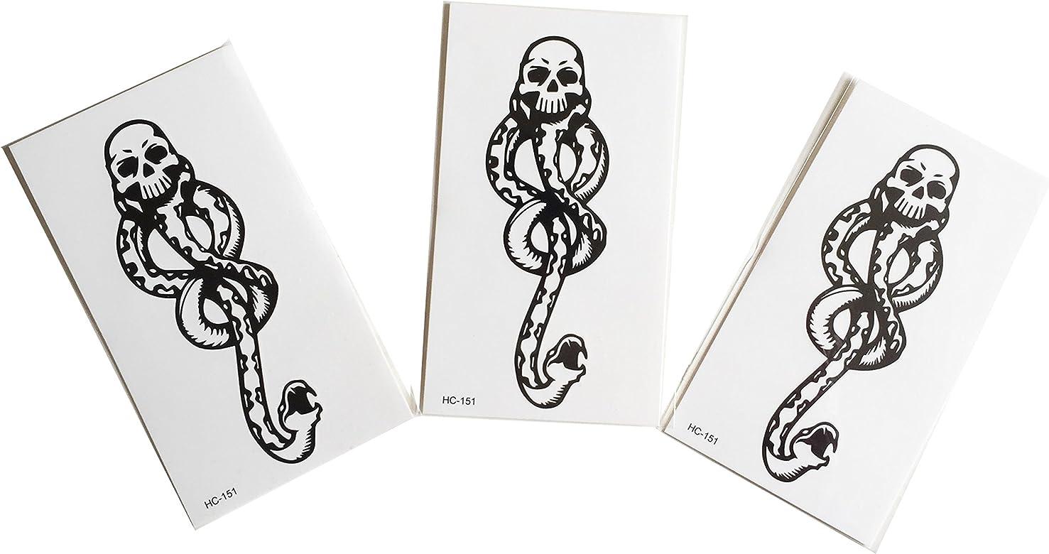 Brillantes y lentejuelas-Lote de 3 Mini tatuajes éphémère ...