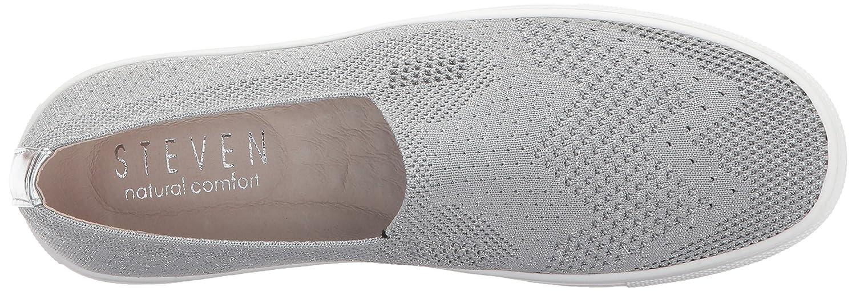 STEVEN by Steve Madden 8.5 Women's NC-Kai Sneaker B071Z244ZD 8.5 Madden B(M) US|Silver cdf6fe