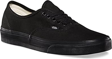 Vans Authentic Black/Black VN000EE3BKA Mens 8, Womens 9.5
