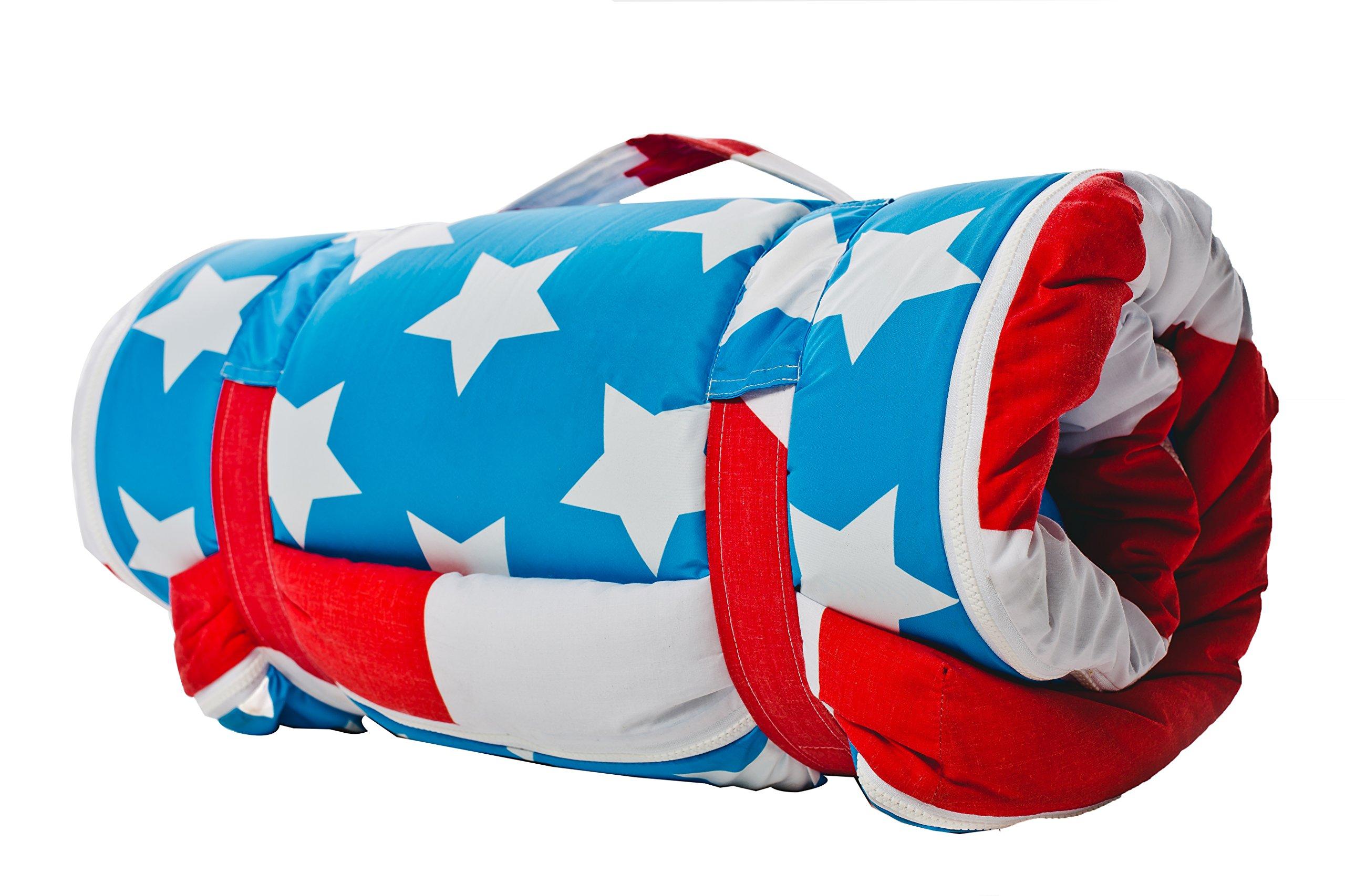 Travel bed (foam mattress,pillow and sleeping bag)
