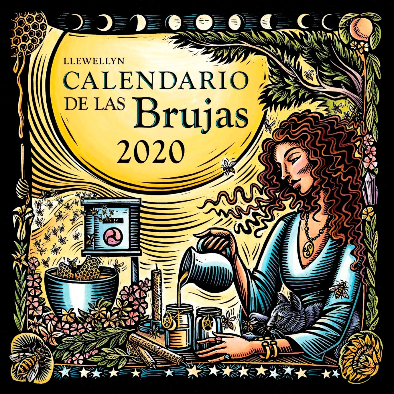 Calendario de Las Brujas 2020: Amazon.es: Llewellyn: Libros